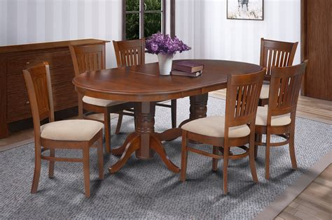 dining room sets for 8 9 pc oval dinette kitchen dining room set 42 quot x78 quot table