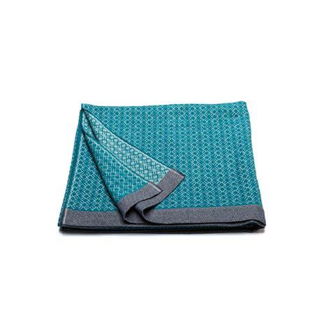 plaid turquoise pour canapé plaid bleu turquoise de grande taille