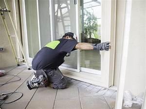 Comment Poser Une Porte A Galandage En Renovation : comment installer une baie vitr e coulissante en aluminium ~ Melissatoandfro.com Idées de Décoration