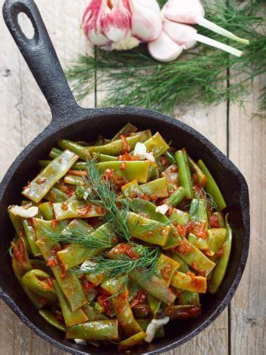 cuisiner haricots plats wok de légumes aux haricots plats recette wok de