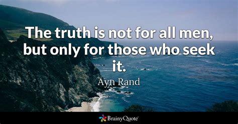 ayn rand  truth     men