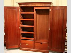 John Hill Antique Australian Cedar Wardrobe The Merchant