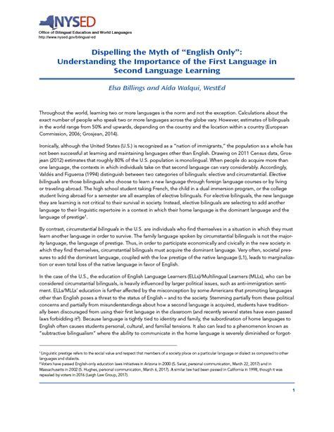 importance    language   language
