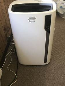 Delonghi Portable Air Conditioner  El275 Series  Comes