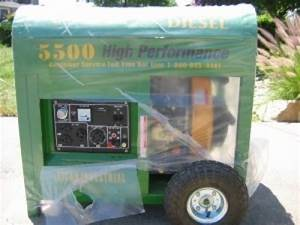 Titan 5500 Diesel Generator Price  Electric Start