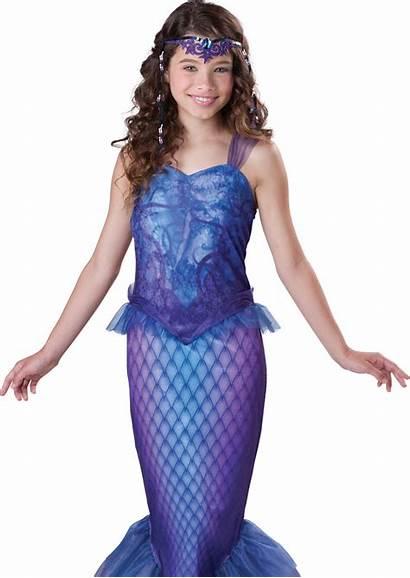 Mermaid Costume Halloween Tween Teen Little Dress
