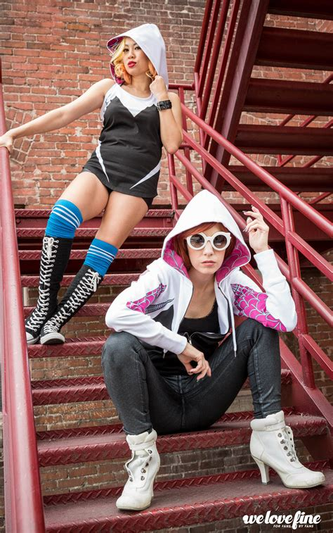 welovefines awesome spider gwen collection marvel fashion