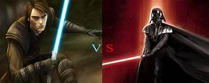 Anakin Skywalker(SirFizzWhizz) VS Darth Vader(WollfMyth209 ...