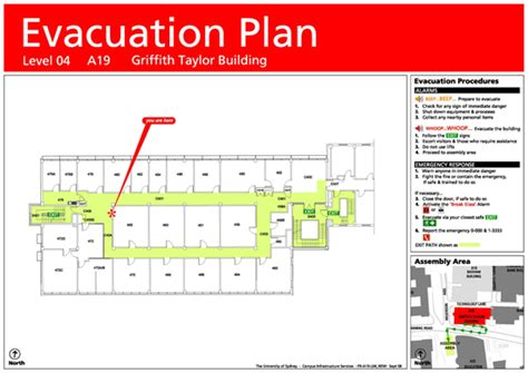 emergency plan template for schools building emergency evacuation plans whs the of sydney