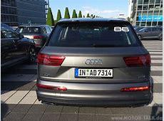 Audi Q7 Mit Argusaugen Auto Notizen