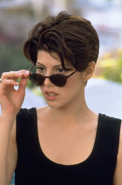 actress long haircut to short marisa tomei awesome hair pinterest easy long
