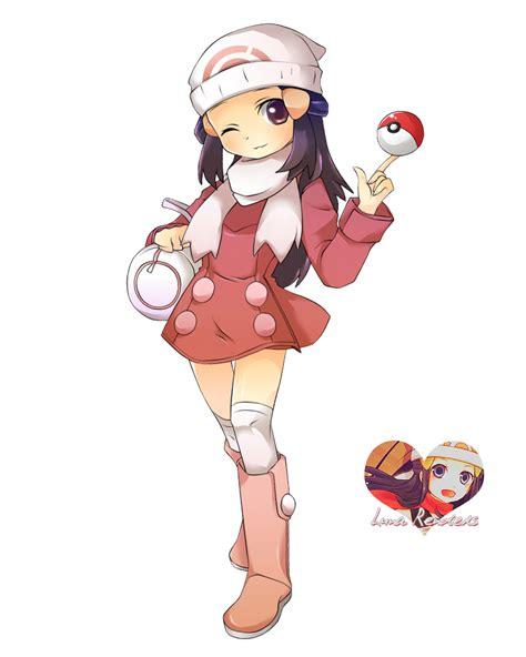 Pokemon Hikari Render by Hikari-Luna on DeviantArt