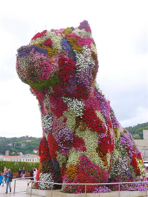 Filebilbao Guggenheim  Ee  Puppy Ee   Jeff Koons  Jpg