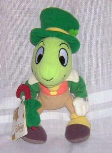 Disney St Patrick 039 s Day Pinocchio Jiminy Cricket Plush ...
