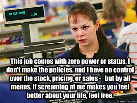 Cashier Memes - condescending cashier memes quickmeme
