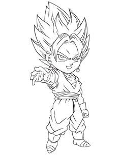 23 Best Dragon Ball Z Coloring Pages images   Dragons