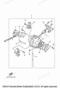 Yamaha Atv 2009 Oem Parts Diagram For Throttle Body Assy