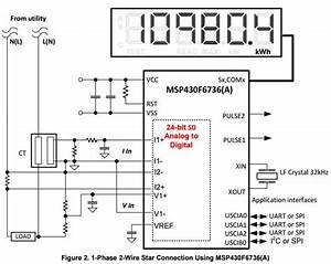 Wiring Diagram Watt Hour Meter