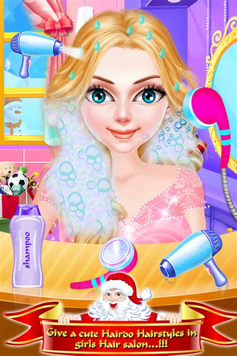 google christmas makeup makeup hair salon dressup android apps on play