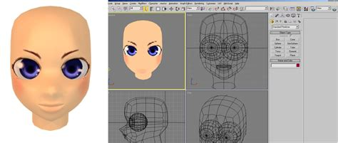 Making 3d Anime Face By Charochai On Deviantart