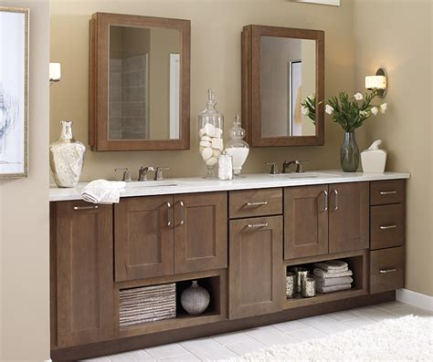 Bathroom Shaker Cabinets by Shaker Bathroom Cabinets Schrock Cabinetry