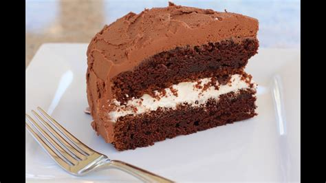This coffee cake with blueberries and cream cheese filling is just a new version of my popular recipe for however, i love coffee cakes. Sour Cream CHOCOLATE CAKE by Rockin Robin - YouTube