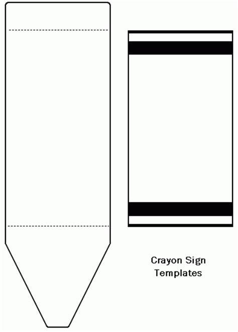 Crayon Template Crayon Template