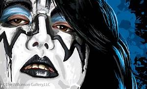 Ace Frehley Makeup Template