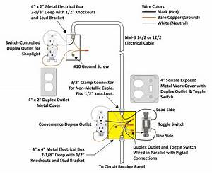 Attic Fan Wiring Diagram Pictorial : how to wire an attic electrical outlet and light ~ A.2002-acura-tl-radio.info Haus und Dekorationen