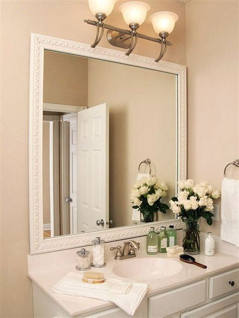 bathroom mirror trim ideas 17 best mirror trim ideas images on bathrooms