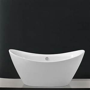 Baignoire A Poser : baignoire en acylique poser navalo ilot pas cher ~ Edinachiropracticcenter.com Idées de Décoration