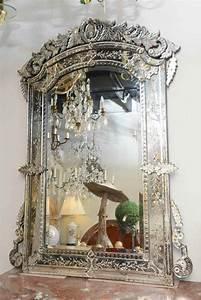 Miroir Vénitien Ancien : miroir v nitien somptueux majestueux ternel ~ Preciouscoupons.com Idées de Décoration