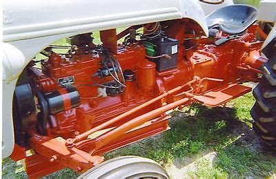 ford tractor motor engine flathead ford  cylinder funk