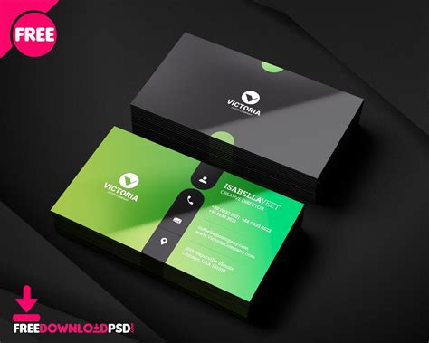 clean business card template free clean business card minimalist business card template