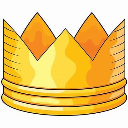 Clipart Krone Ouro Goldene Creazilla Cliparts Golden