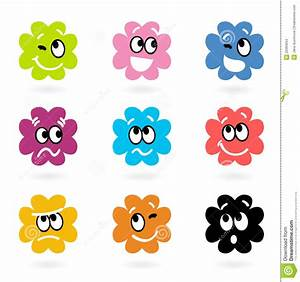 Cute Bacteria Or Monster Vector Collection Stock Images ...