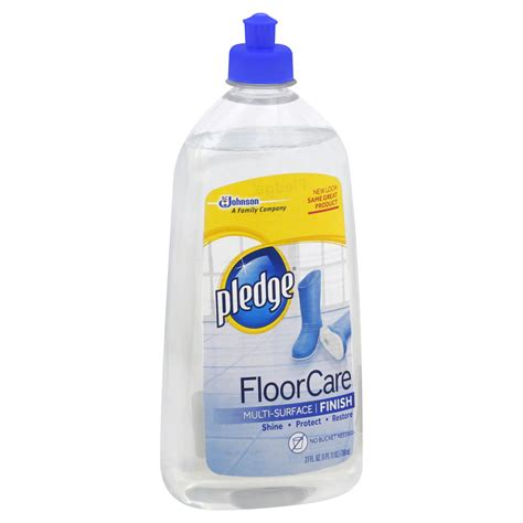 johnson pledge floor care multi surface finish upc 046500001826 sc johnson pledge floor care multi