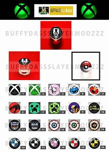 Custom Xbox 360 Guide Buttons