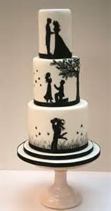 wedding cake photos silhouette wedding cake etoile bakery