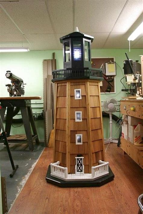 Small wooden boat plans free. woodworking plan s lighthouse - Google Search … | Lighthouse woodworking plans, Easy woodworking ...