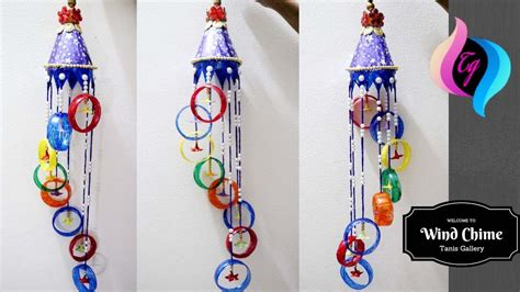 plastic bottle wind chime homemade wind chimes ideas