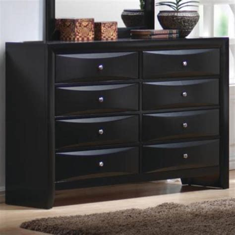 briana collection  black storage bedroom set