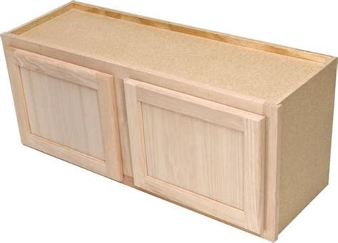 menards unfinished kitchen cabinets quality one 30 quot x 15 quot unfinished oak an appliance 7437