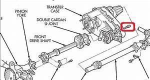 2008 Jeepmander Front Drivetrain Diagram