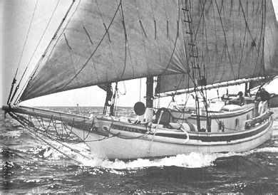 Joshua Slocum Boat by Joshua Slocum The Yacht Spray Sailing Photos Nothing