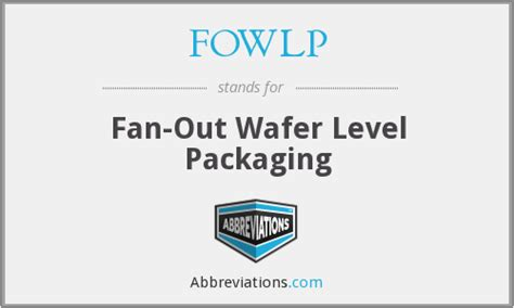 Fowlp Fan Out Wafer Level Packaging