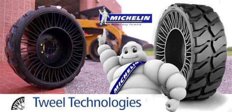 Michelin Talks Tweel For North America