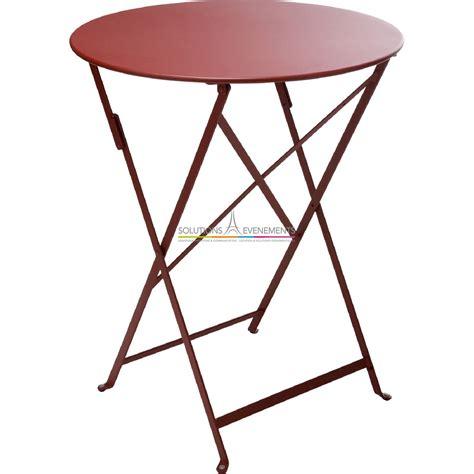 Tables De Jardin Fermob Location De Table De Jardin Fermob De Couleur