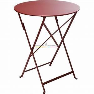 location de table de jardin fermob de couleur With table de jardin fermob