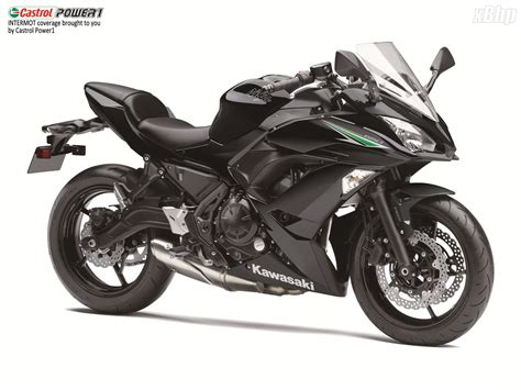 The 2017 Kawasaki Ninja 650 Unveiled At Intermot